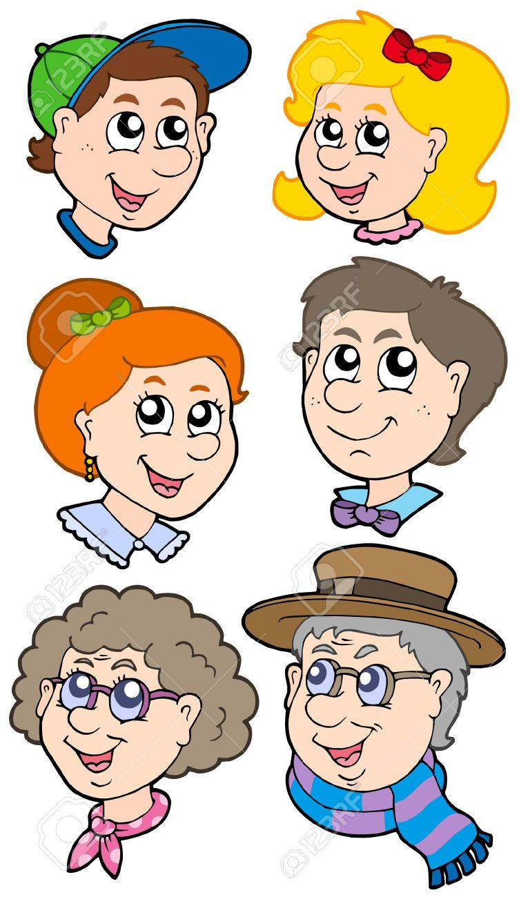 Relative clipart png transparent download relative: Family faces | Clipart Panda - Free Clipart Images png transparent download