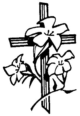 Religious Easter Clipart Black And White – HD Easter Images image library stock