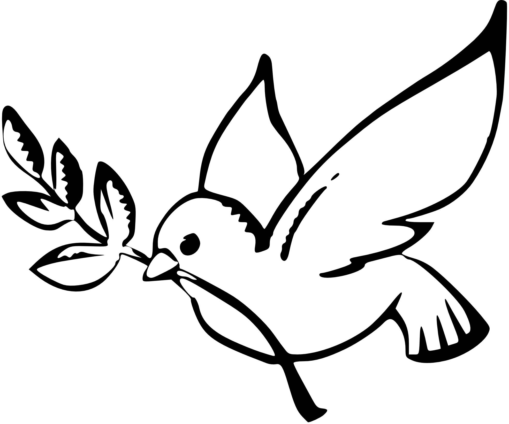 Religious christmas clipart images banner stock Dove Clipart Black And White | Clipart Panda - Free Clipart Images banner stock