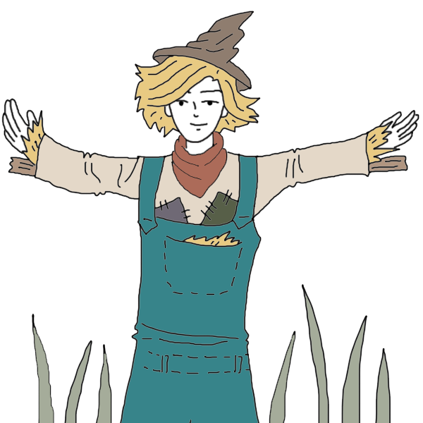 Religious cross with scarecrow and pumpkin clipart free library Scarecrow Dream Dictionary: Interpret Now! - Auntyflo.com free library