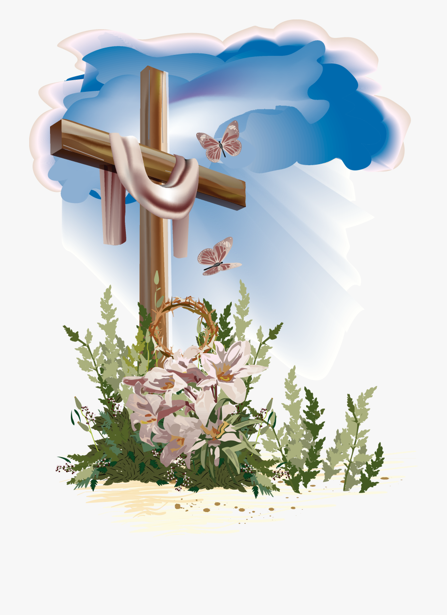 Easter Clipart Religious - Good Friday Wishes 2019 #156923 ... jpg royalty free library