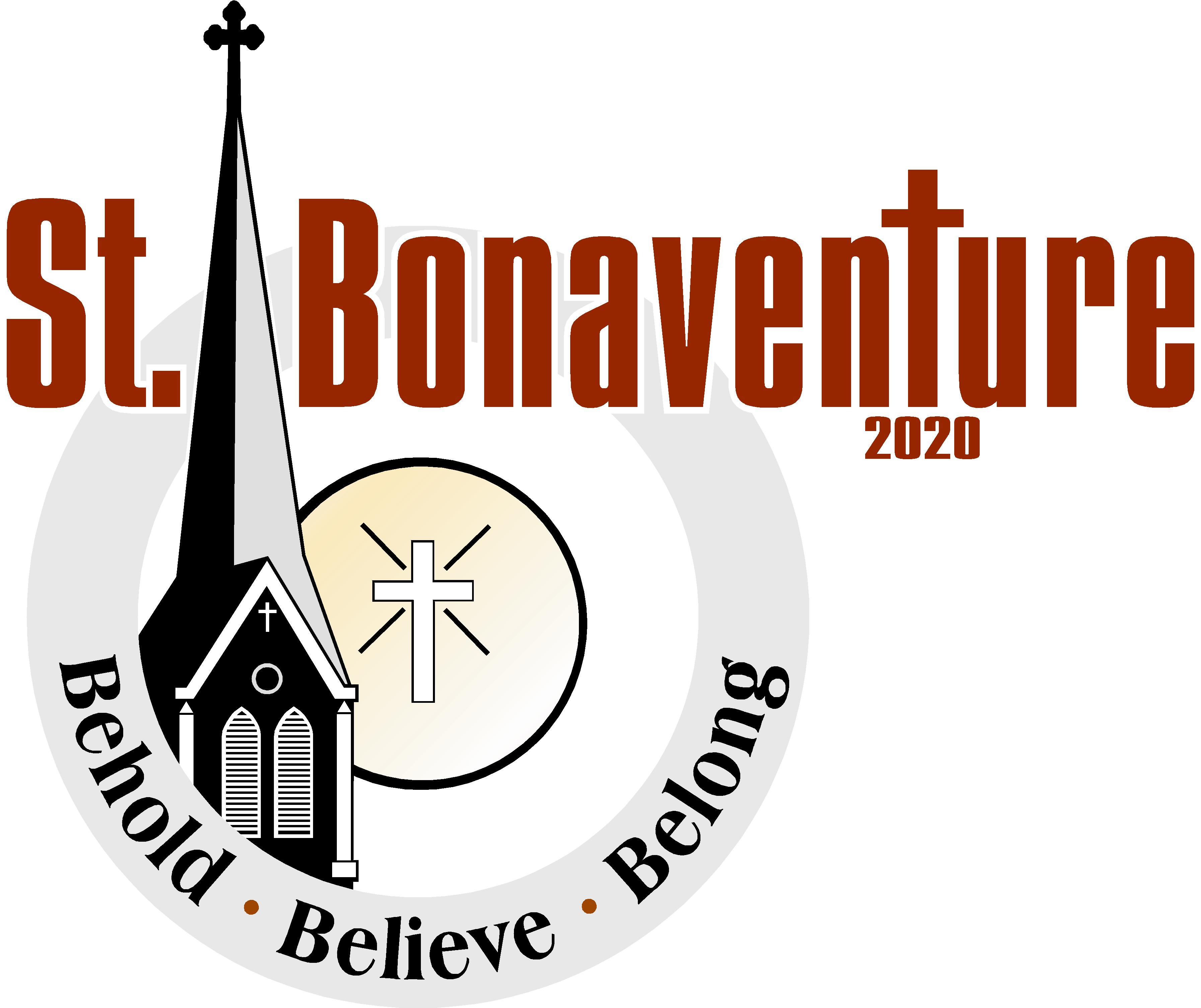 Religious money prize clipart vector black and white stock Parish Bulletins - Saint Bonaventure Catholic Church vector black and white stock
