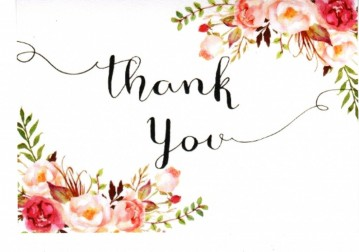 Religious thank you for memorial donation clipart jpg free library Testimonials Thank You | Paul Williams Independent Funeral ... jpg free library