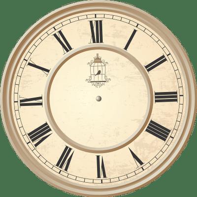 Reloj antiguo clipart vector black and white library Reloj Gustav Becker Antiguo PNG transparente - StickPNG vector black and white library