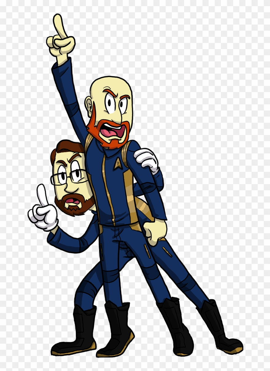 I Made These Two Reluctant Discovery Era Starfleet - Cartoon ... jpg download