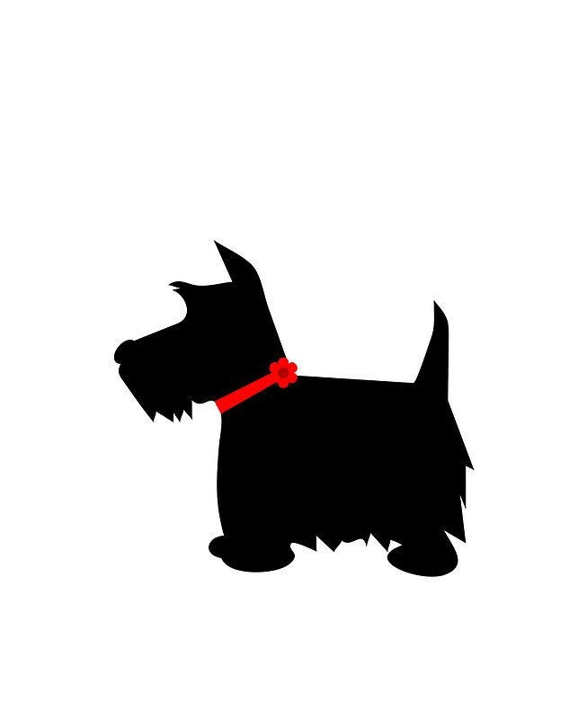 Pin by Judith Campbell on Images for Crafts...   Dog clip ... clip art black and white library