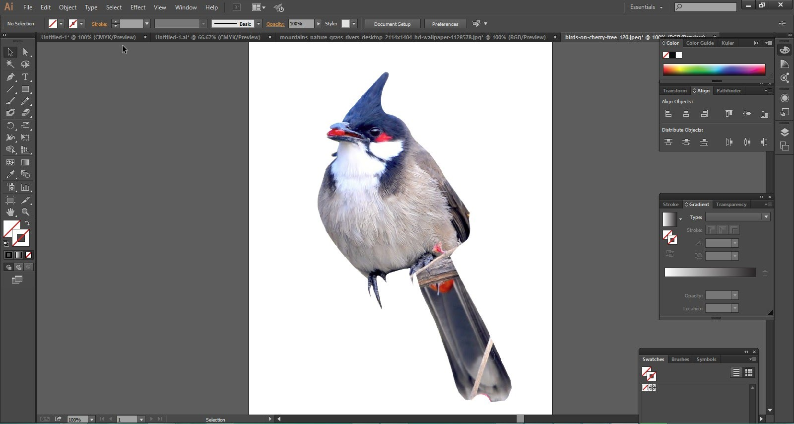 Remove background from clipart vector download Remove background from an Image using Illustrator - YouTube vector download