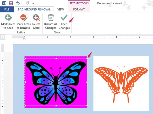 Remove background from clipart graphic freeuse How to Remove a White Background on a Picture in Microsoft Word ... graphic freeuse