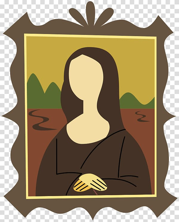Renaissance painting clipart vector free download Isleworth Mona Lisa Renaissance Drawing, Minimal New ... vector free download