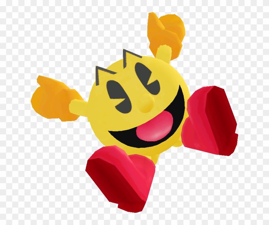 Render clipart svg download Gif Transparent Pacman - Pac Man Smash Bros Render Clipart ... svg download