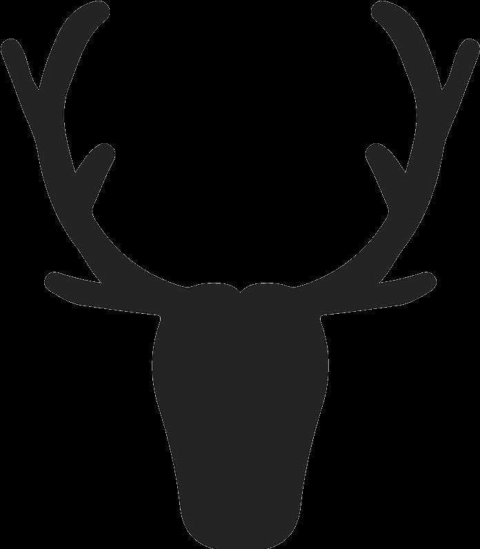 Reno clipart image free stock Elk Silhouette At Getdrawings Com Free For - Cuernos De Reno ... image free stock