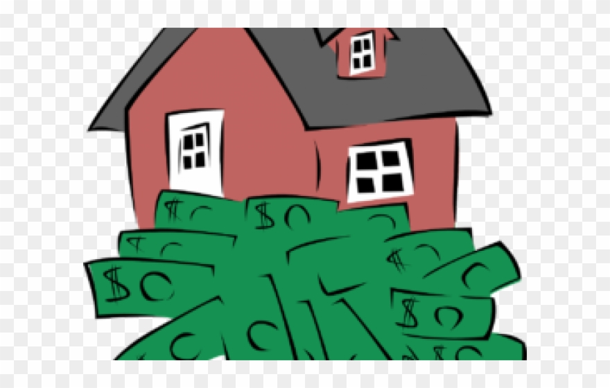 Rent Clipart Real Estate Investment - Money Clip Art - Png ... png black and white