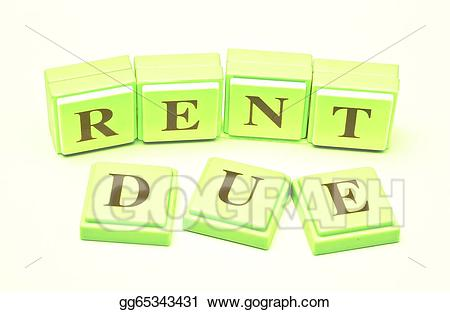 Rent due clipart graphic royalty free Stock Illustration - Rent due. Clipart Illustrations ... graphic royalty free