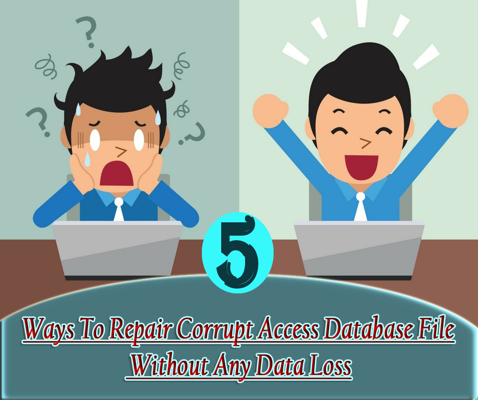 5 Ways To Repair Corrupt Access Database File Without Any ... vector download