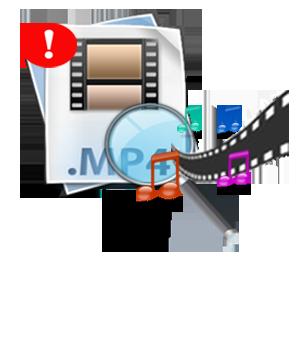 How to Fix Unreadable MP4? clipart transparent stock