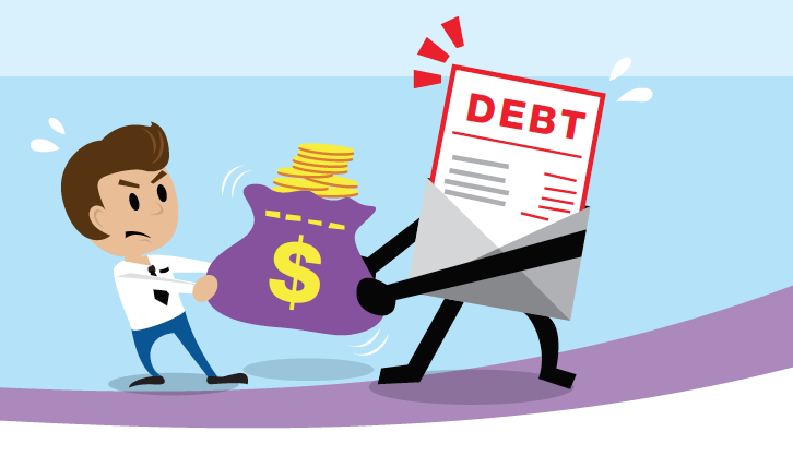 Manage your debt, don\'t let it manage you! - DMA News clipart freeuse library