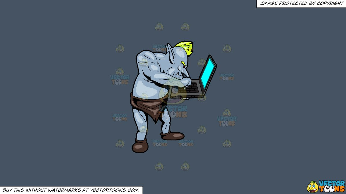 Replying clipart clip transparent Clipart: An Internet Troll Replying To A Post On A Laptop on a Solid Metal  Grey 465362 Background clip transparent