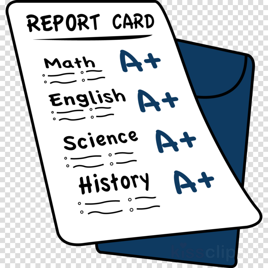 Report cards clipart image black and white Report Card Clipart | polsterer.info image black and white