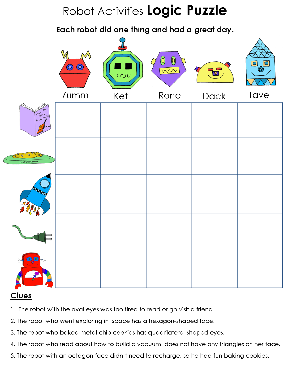 Report grades gold star clipart image free Beyond Gold Stars: Robot Logic Puzzles - Geometry and Vowels | Robot ... image free