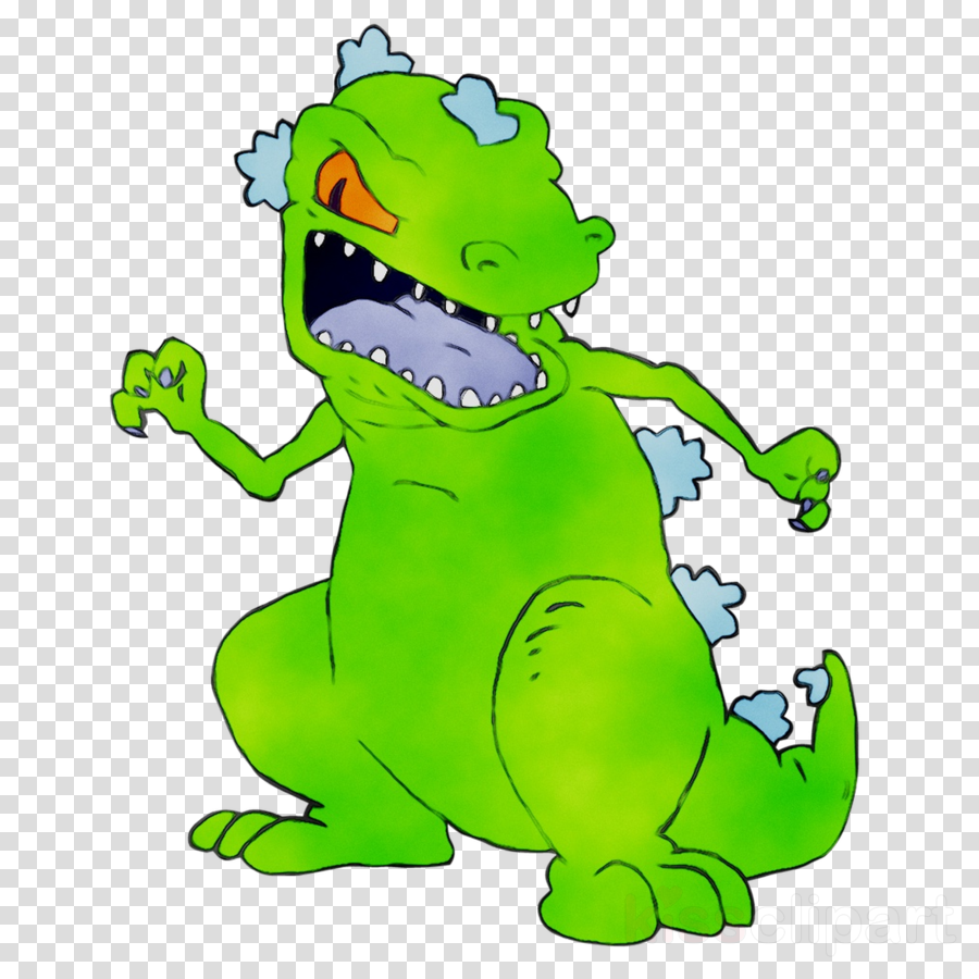 Reptar clipart png black and white download Animal Cartoon clipart - Green, Cartoon, Crocodile ... png black and white download
