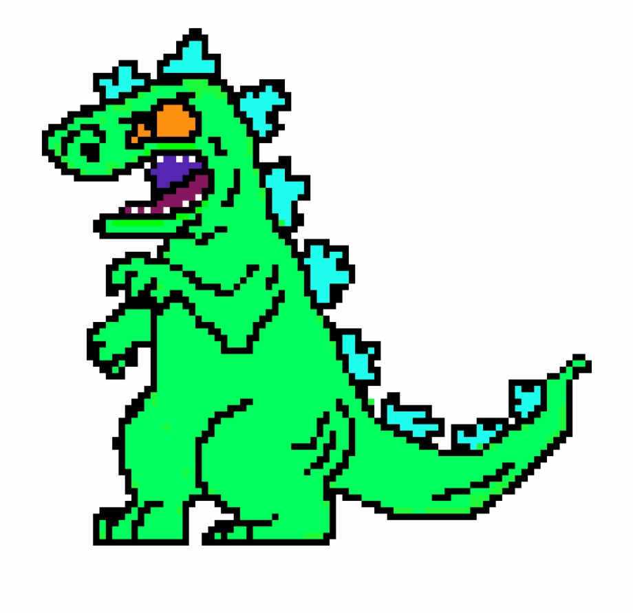 Reptar clipart graphic black and white stock Reptar - Reptar Png Free PNG Images & Clipart Download ... graphic black and white stock