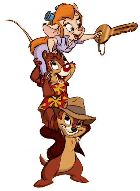Rescue rangers clipart vector library library Top 97 Chip And Dale Clip Art - Free Clipart Spot   Disney ... vector library library