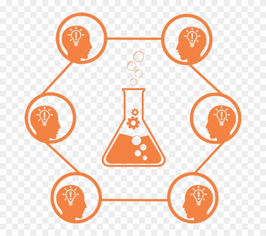 Research development clipart png black and white stock Innovation Trough Collaborative Research And Development ... png black and white stock