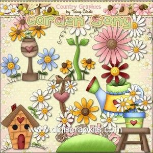 Reseller clipart clipart free country clip art | RESELLER - Garden Song Clip Art for ... clipart free
