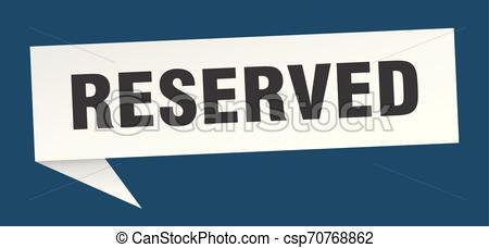 Reservado clipart clip library reservado clip library