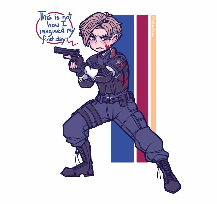 Resident evil 2 remake clipart vector freeuse library Resident Evil - Leon Kennedy Resident Evil 2 Remake Free PNG ... vector freeuse library