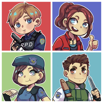 Resident evil 2 remake clipart banner royalty free library resident evil 2 icons | Tumblr banner royalty free library