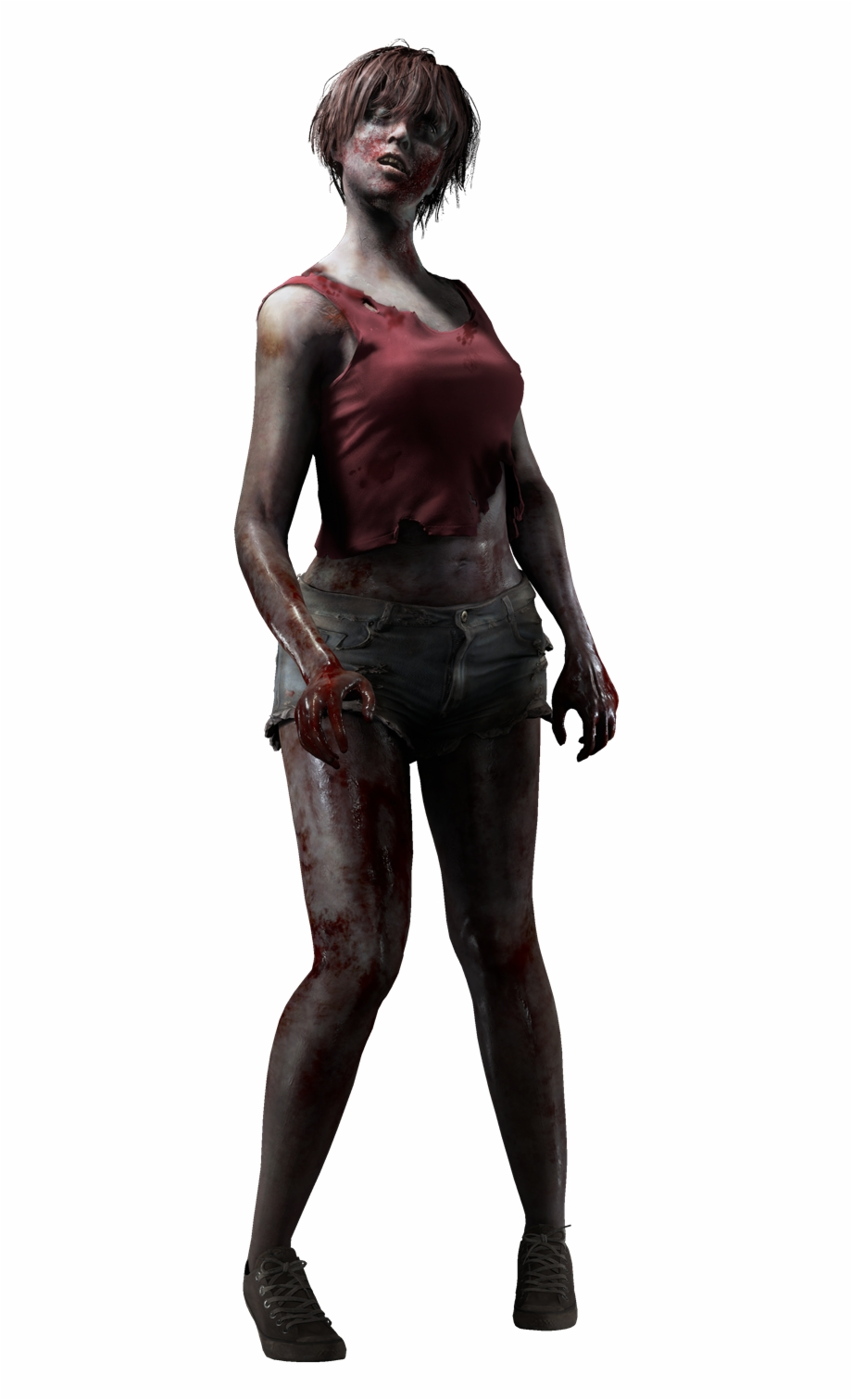 Resident evil 2 remake clipart image black and white download Resident Evil On Twitter - Resident Evil 2 Remake Female ... image black and white download