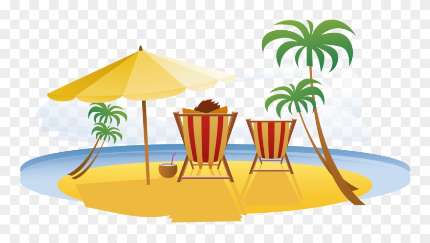 Resort clipart banner free stock Beach Vacation Seaside Resort Travel - Summer Vacation Png ... banner free stock