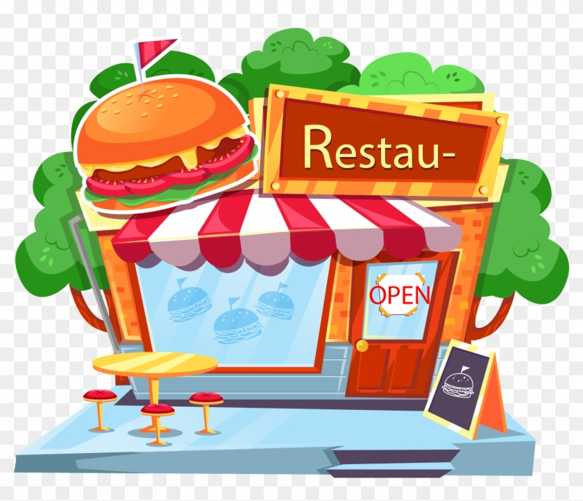 Library of restaurant vector library stock pictures png ...