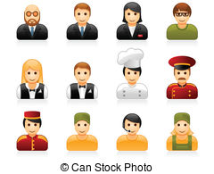 Restaurant manager clipart clip free stock Hotel restaurant management Stock Illustrations. 357 Hotel ... clip free stock
