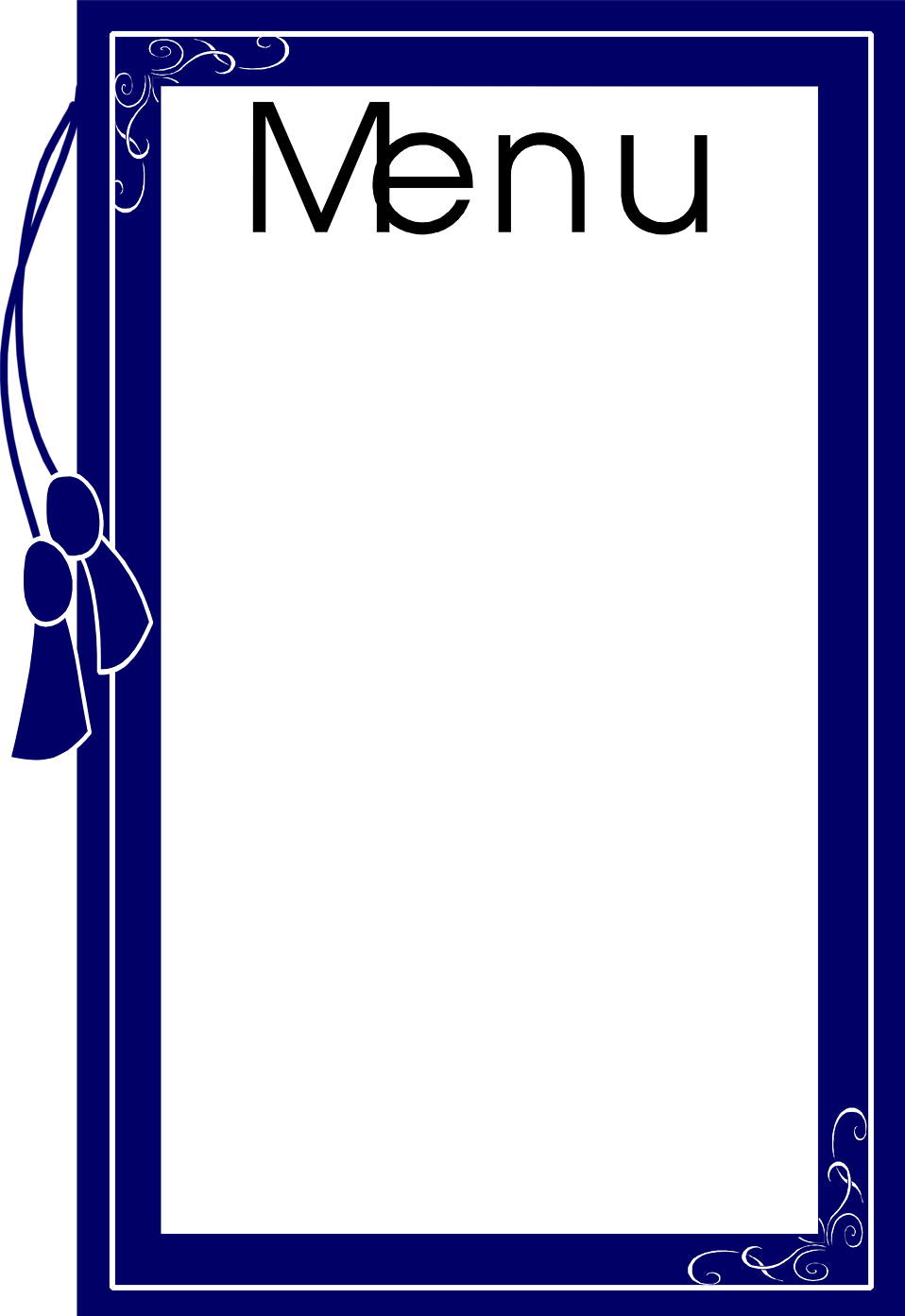 Restaurant menu design clipart image transparent Menu Cliparts | Free download best Menu Cliparts on ... image transparent