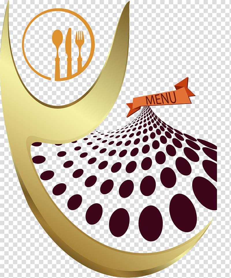 Restaurant menu design clipart jpg Orange flatware logo, Cafe Haute cuisine Menu Restaurant ... jpg