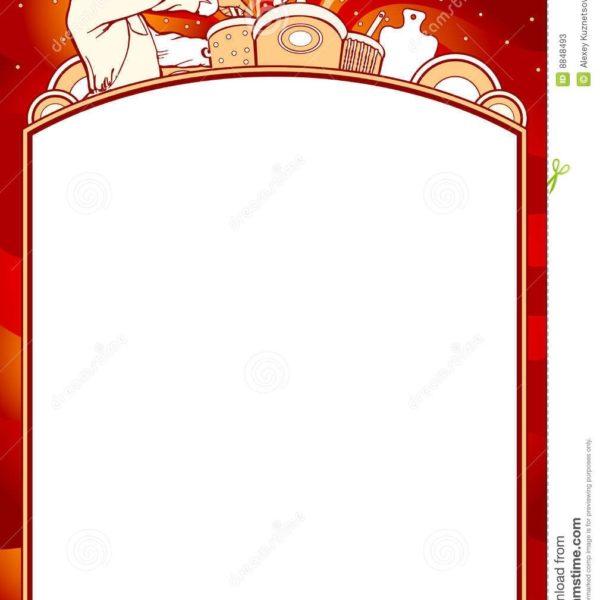 Restaurant menu design clipart banner free Blank Menu Clipart – Gify pertaining to Restaurant Menu ... banner free