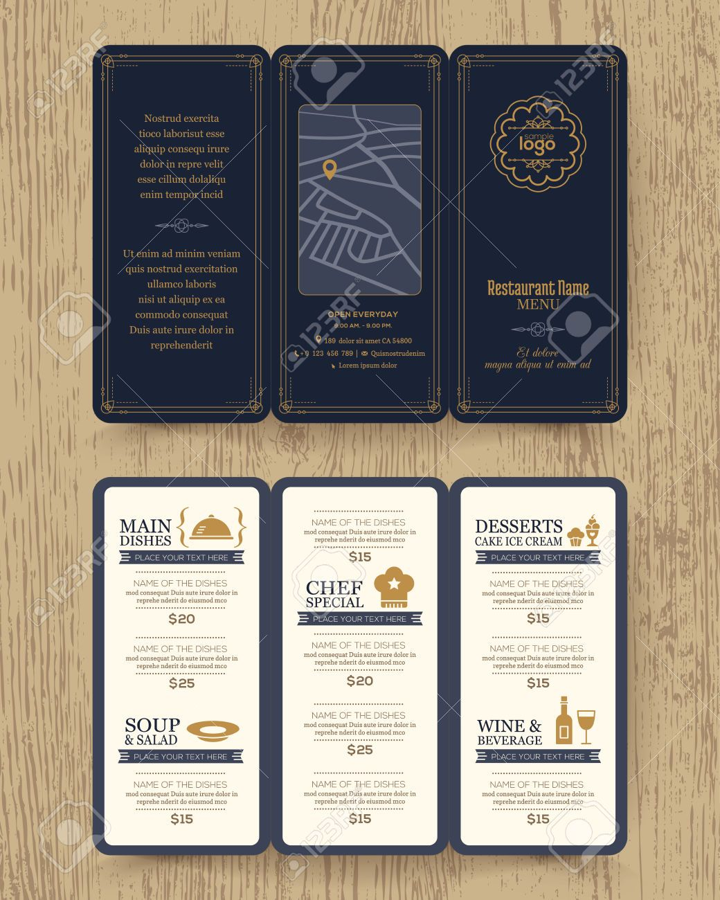 Restaurant menu design clipart vector transparent Stock Vector | Brand Identity | Cafe menu design, Restaurant ... vector transparent