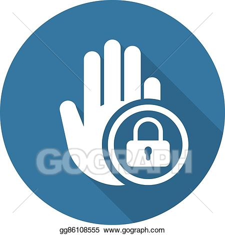 Restricted clipart vector transparent stock Vector Art - Restricted area icon. flat design. Clipart ... vector transparent stock