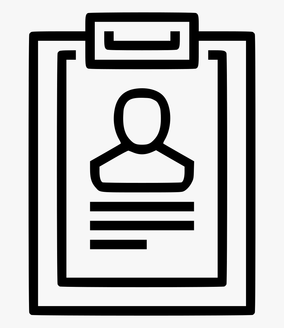 Resume clipart icons vector library Icon Resume Icons For Personal Resume Sketch Freebie - Cv ... vector library