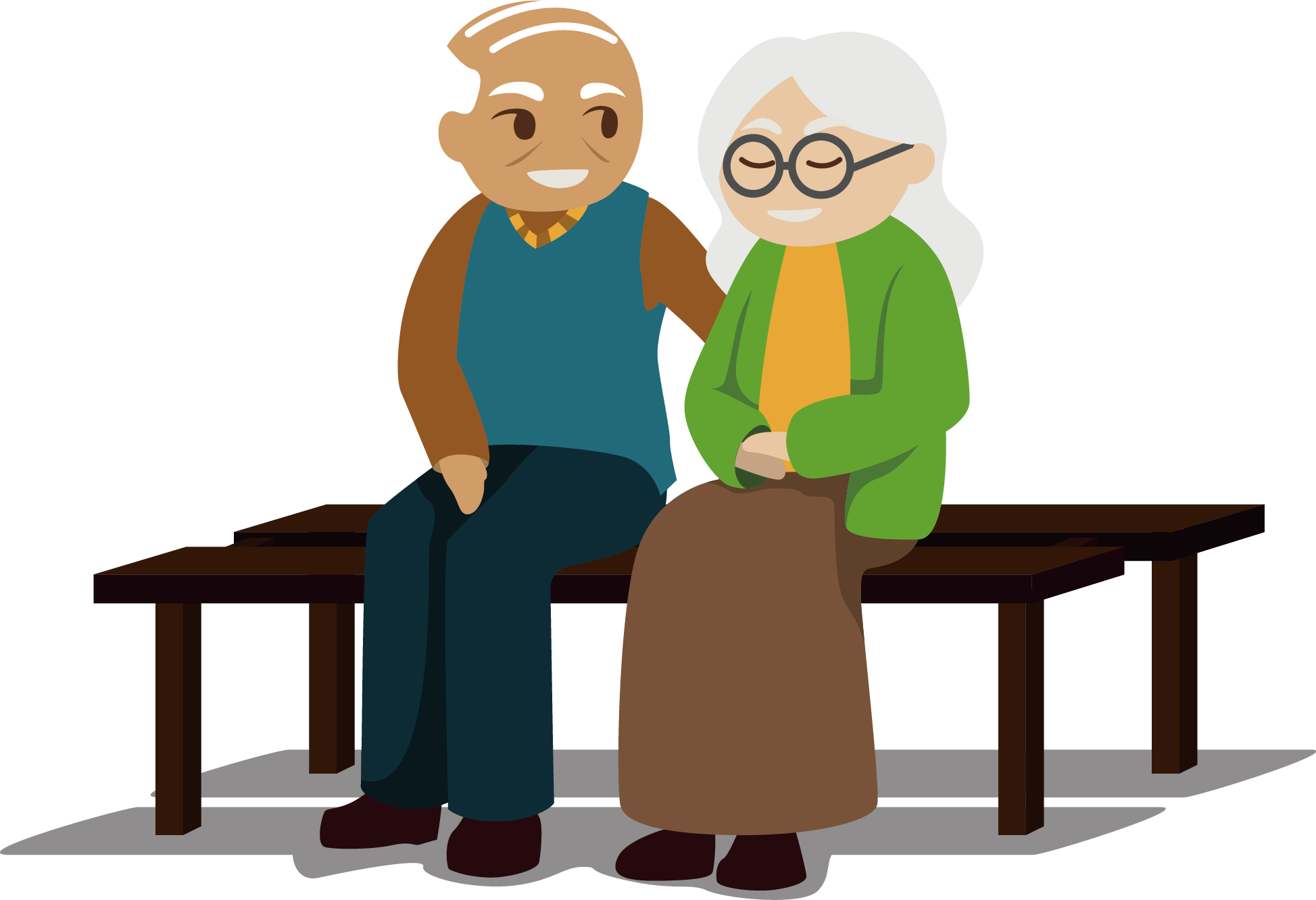 Retired people clipart graphic black and white download Grandparents clipart retired couple, Grandparents retired ... graphic black and white download