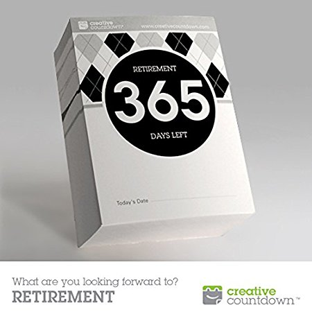 Retirement countdown clipart banner freeuse stock Amazon.com: 365-day Countdown to Retirement Tear Off Calendar; 1 ... banner freeuse stock