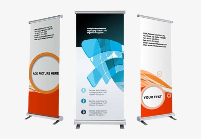 Retractable banner clipart svg free stock Retractable Banner With Display - Event Printing Banner ... svg free stock