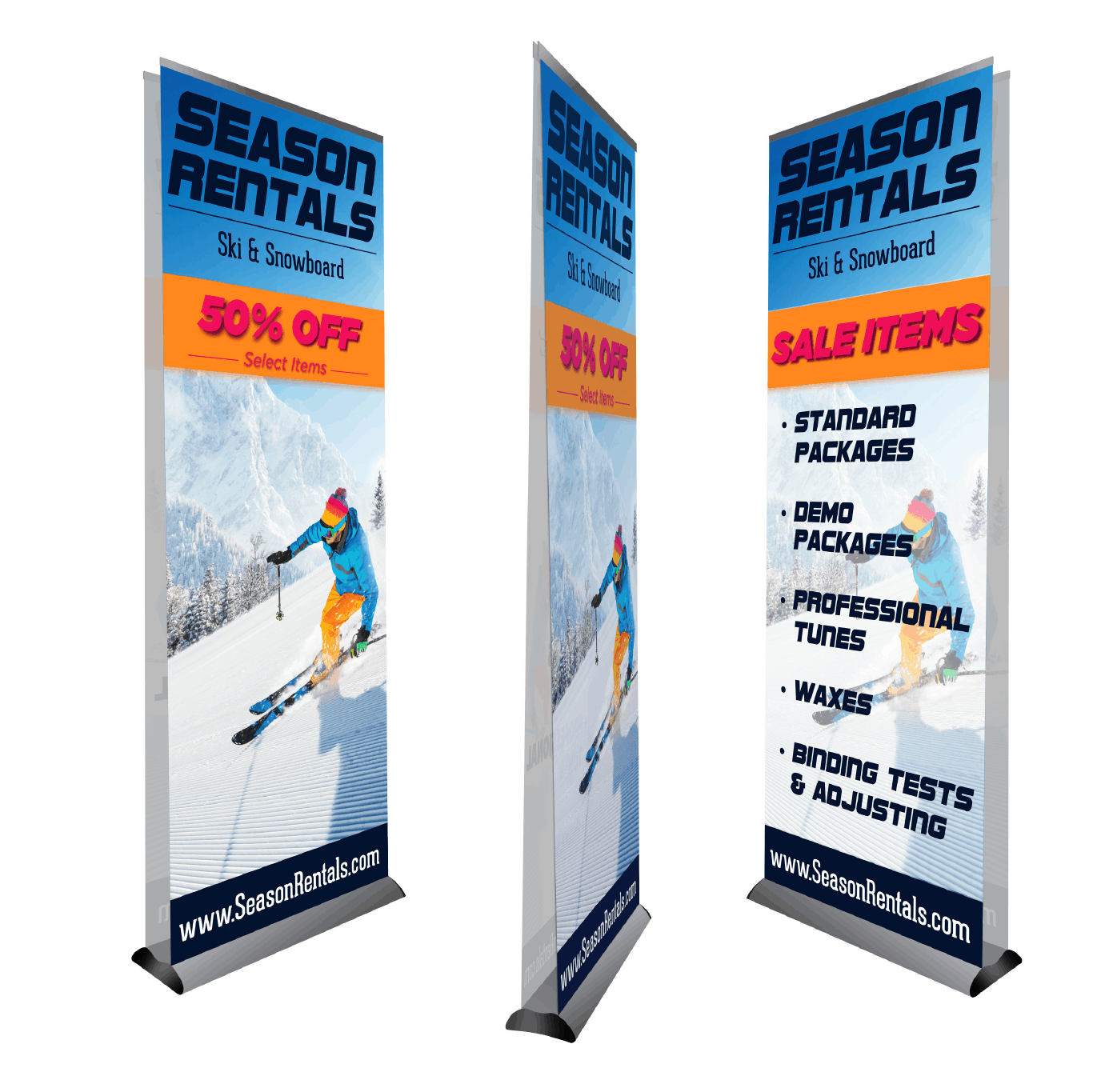Retractable banner clipart svg library Retractable & Pop Up Banners   Signs.com svg library