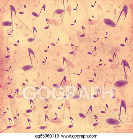 Retro background clipart free Stock Illustration - Vintage music background. Clipart ... free