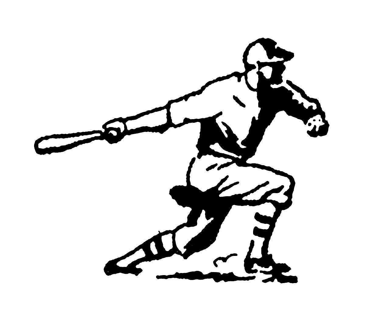 Sports baseball clipart image freeuse Digital Stamp Design: Vintage Stock Sports Clip Art Illustrations ... image freeuse