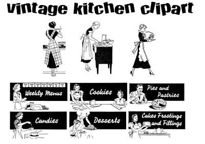 Retro clip art creator picture freeuse stock Retro clipart kitchen - ClipartFox picture freeuse stock
