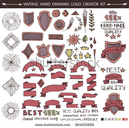 Retro clip art creator graphic free Guarantee Logotype Stock Images, Royalty-Free Images & Vectors ... graphic free