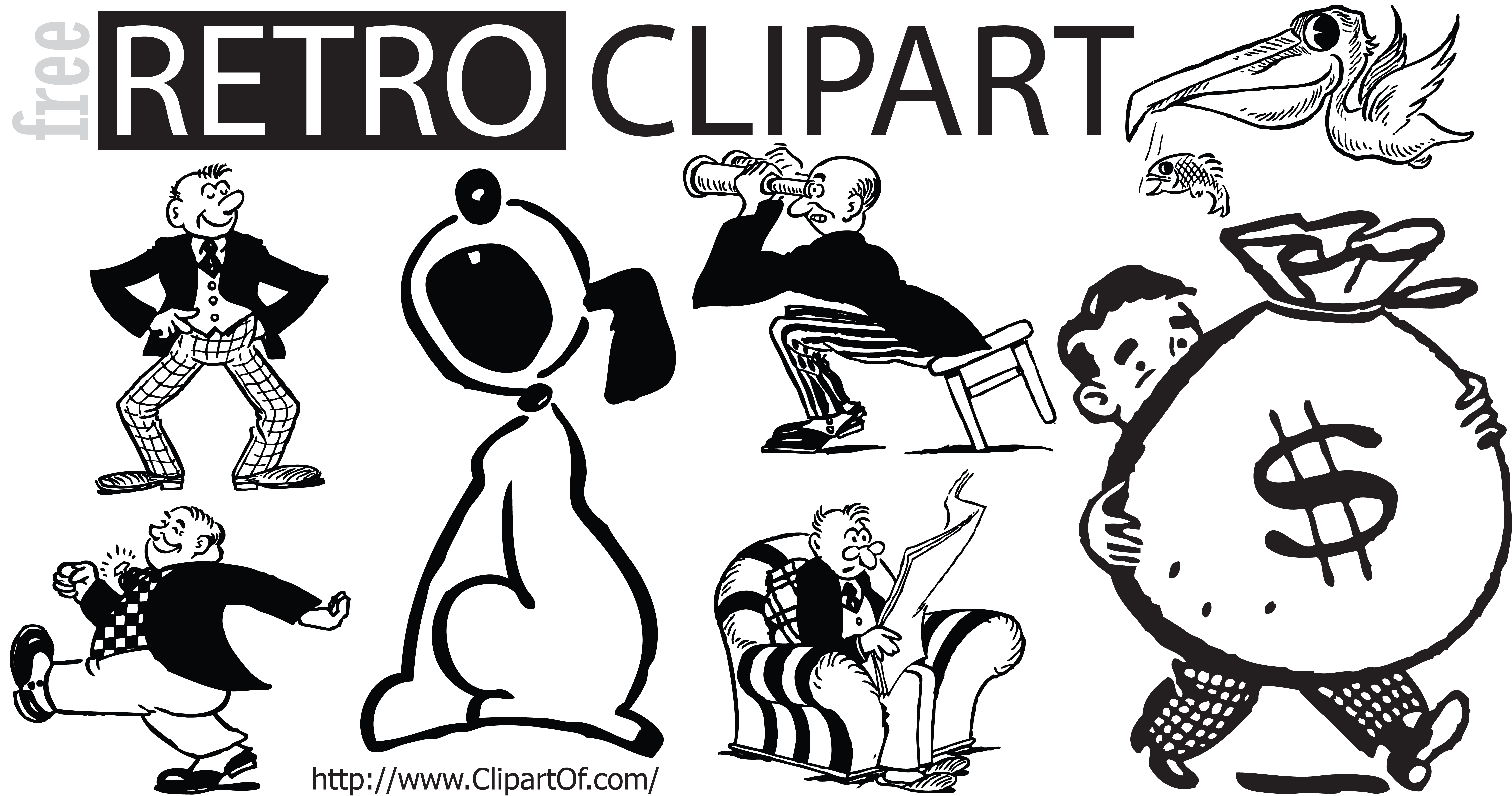 Retro clipart man with crown banner library stock 28+ Collection of Retro Clipart Png | High quality, free cliparts ... banner library stock
